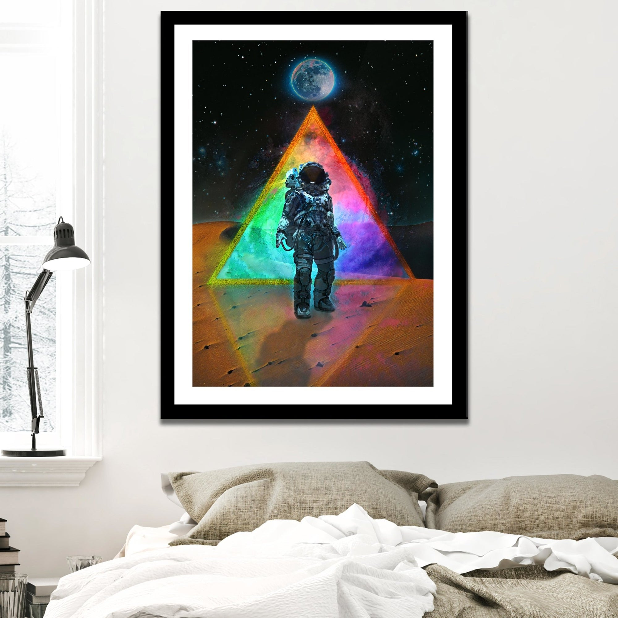 Man On Mars Semi-gloss Print - Thedopeart