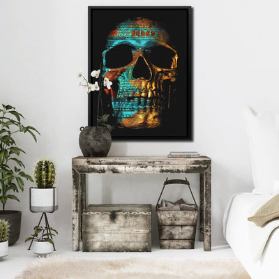 Money Skull - Thedopeart