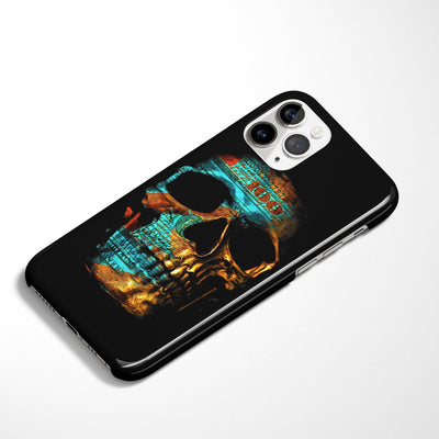 Money Skull Phone Case - Thedopeart
