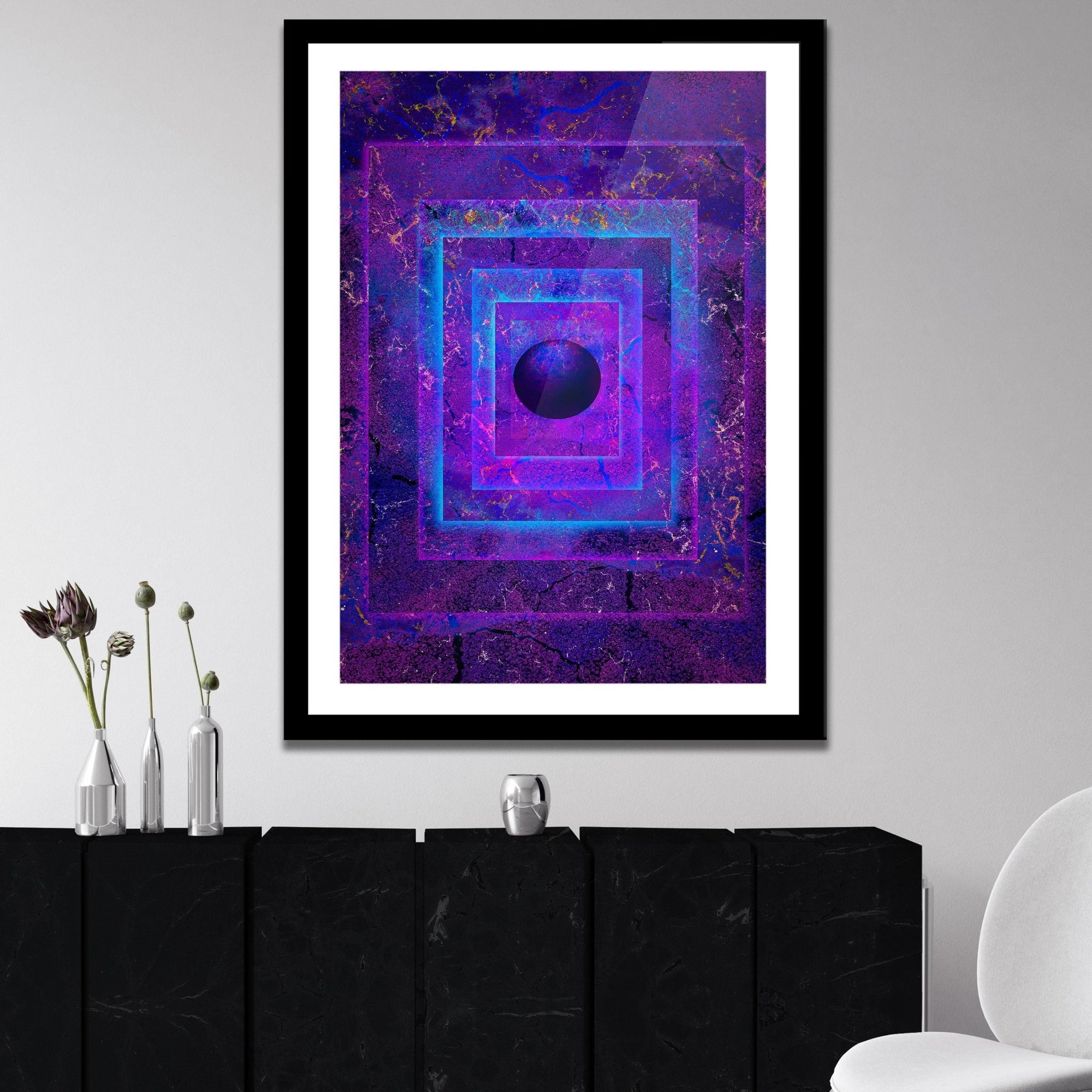 Mysterious Orb Semi-gloss Print - Thedopeart Prints