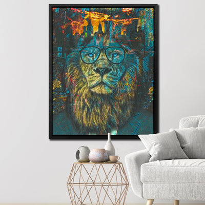 NYC Business Lion - Thedopeart Canvas