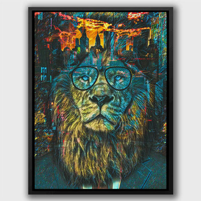 NYC Business Lion - Thedopeart