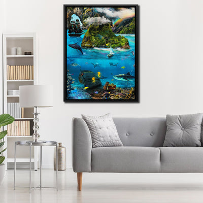 Paradise Island - Thedopeart Canvas