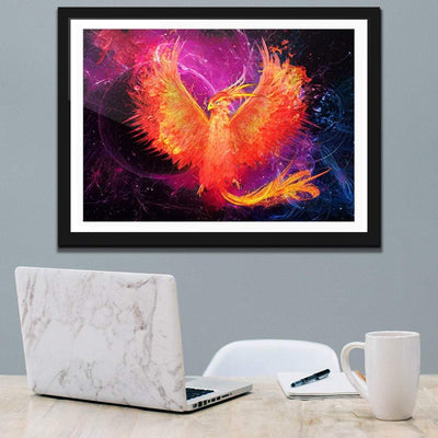 Phoenix Rebirth Semi-gloss Print - Thedopeart Prints