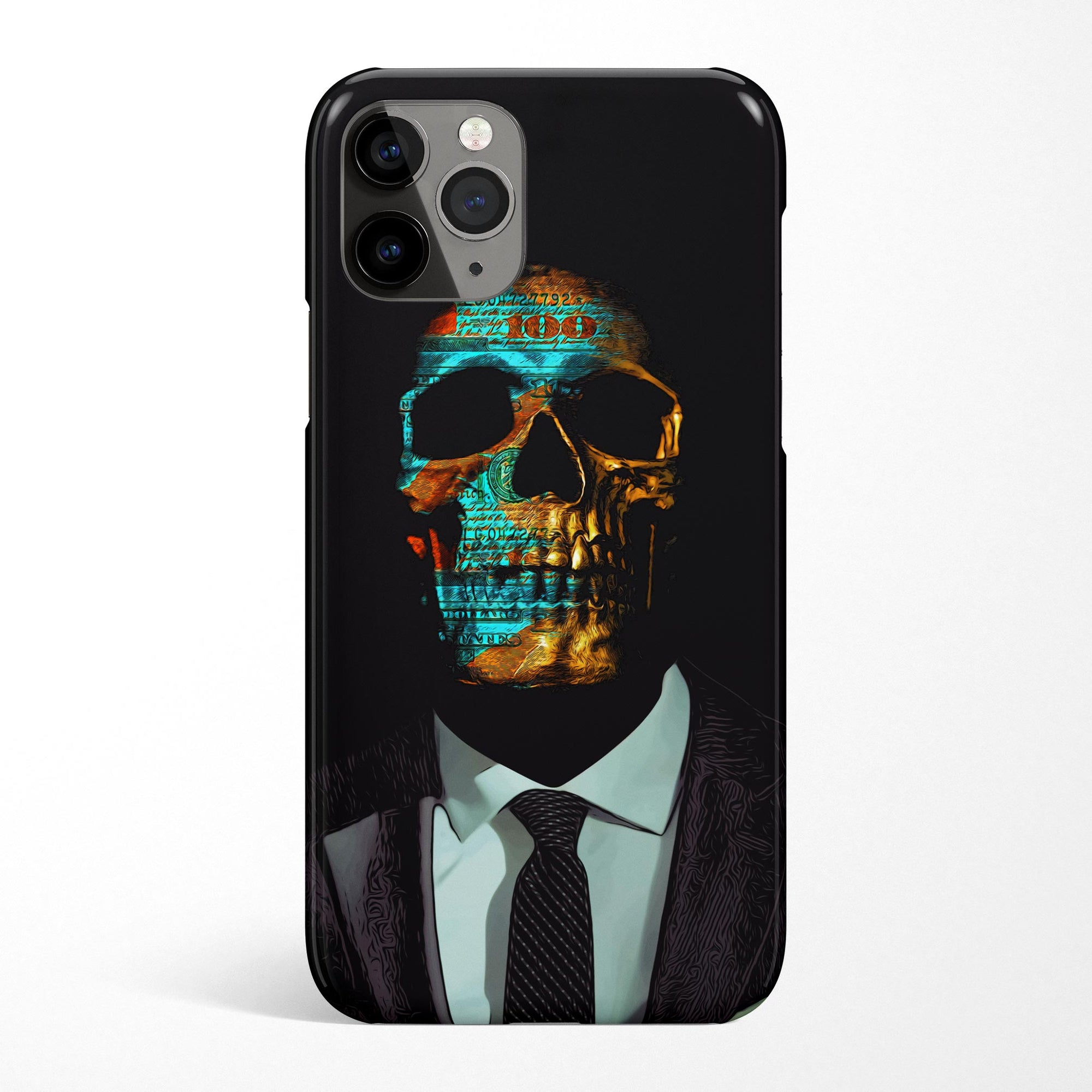 Suited Skull Phone Case - Thedopeart Phone Cases 2