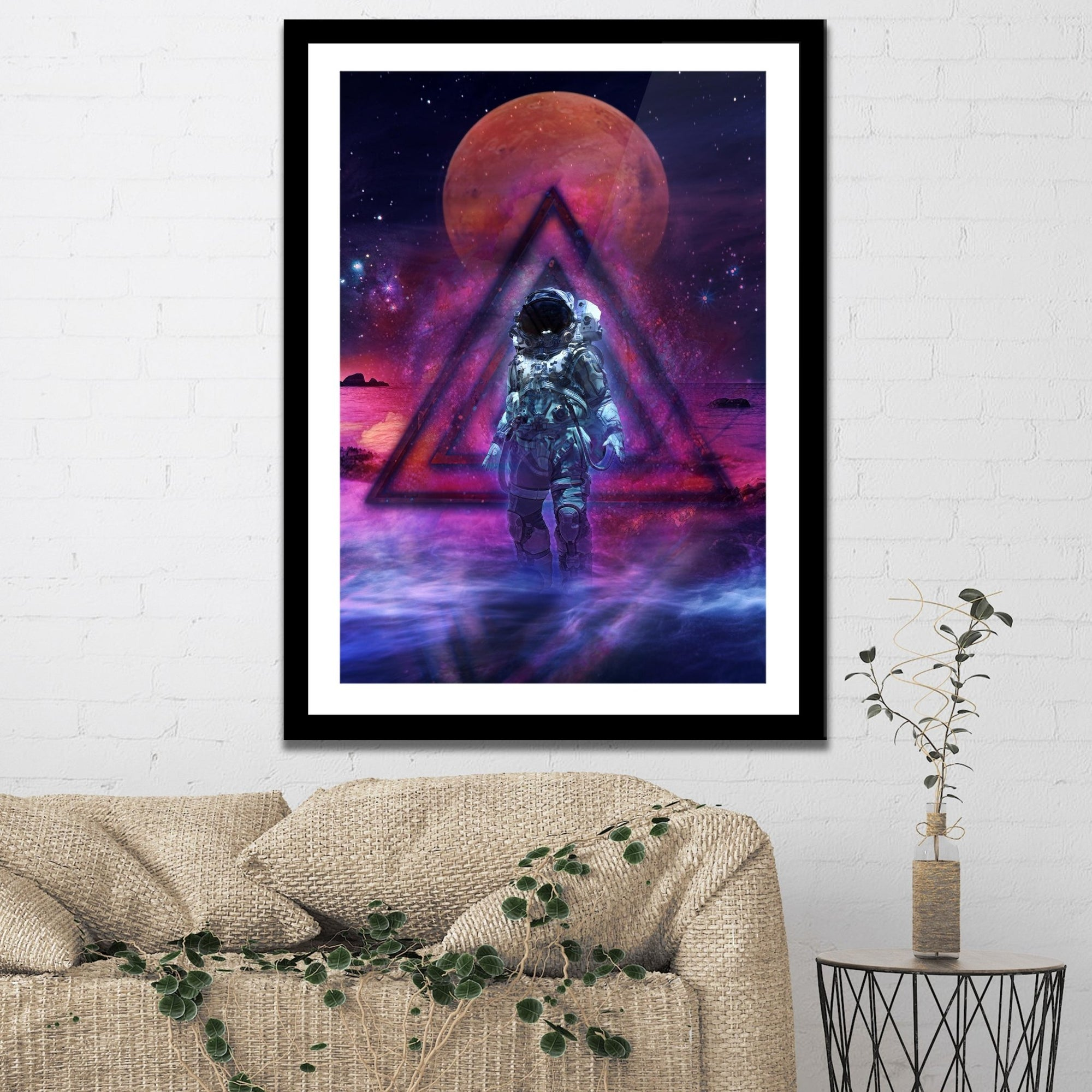 The Cosmonaut Semi-gloss Print - Thedopeart