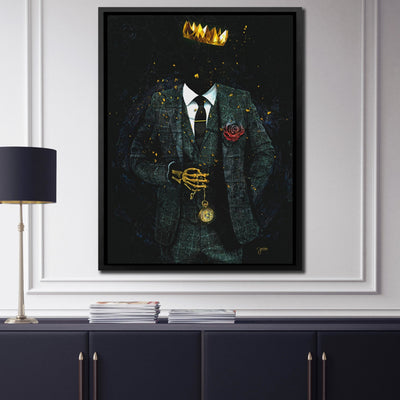Time is King - Thedopeart Canvas
