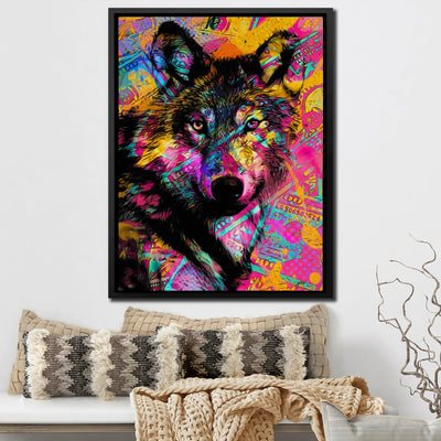 $Wolf - Thedopeart Canvas