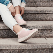 Women's Coffee Sneakers - Sweet Pink