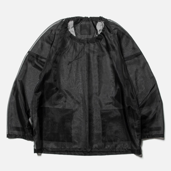 Rip Stop Mesh Pullover (Off Black) / MW-SH20106