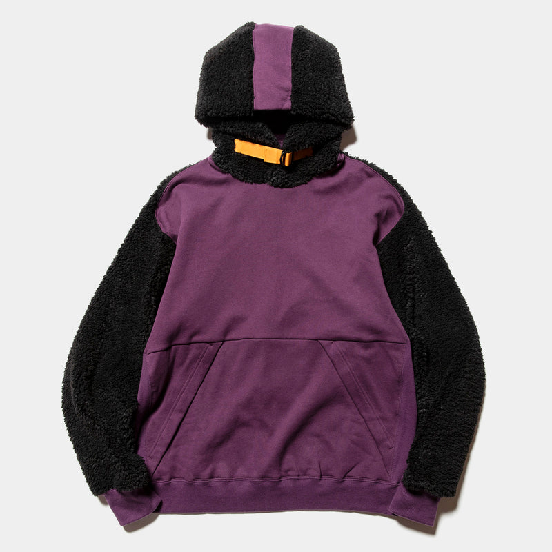 Pile Function Hoodie(Purple)/MW-CT20206