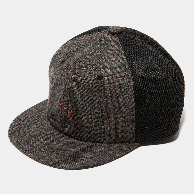 Glen Check Mesh Cap(Brown)/MW-HT20201