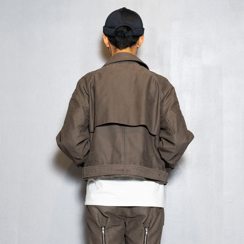 Moleskin Split Over Coat(Olive)/MW-JKT20207