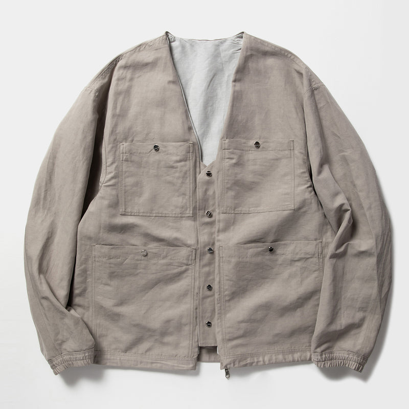 Duality Cloth Reversible 4Way JKT (Grey) / MW-JKT21103