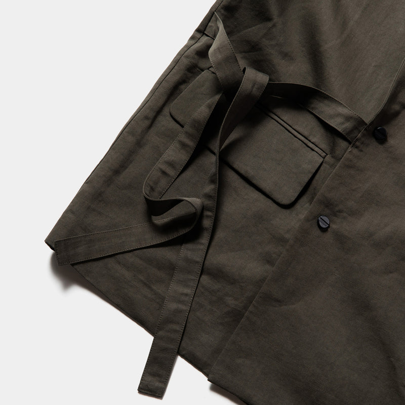 "Duality Cloth Working Outfit ""SAMUE"" (Charcoal) / MW-JKT21104"