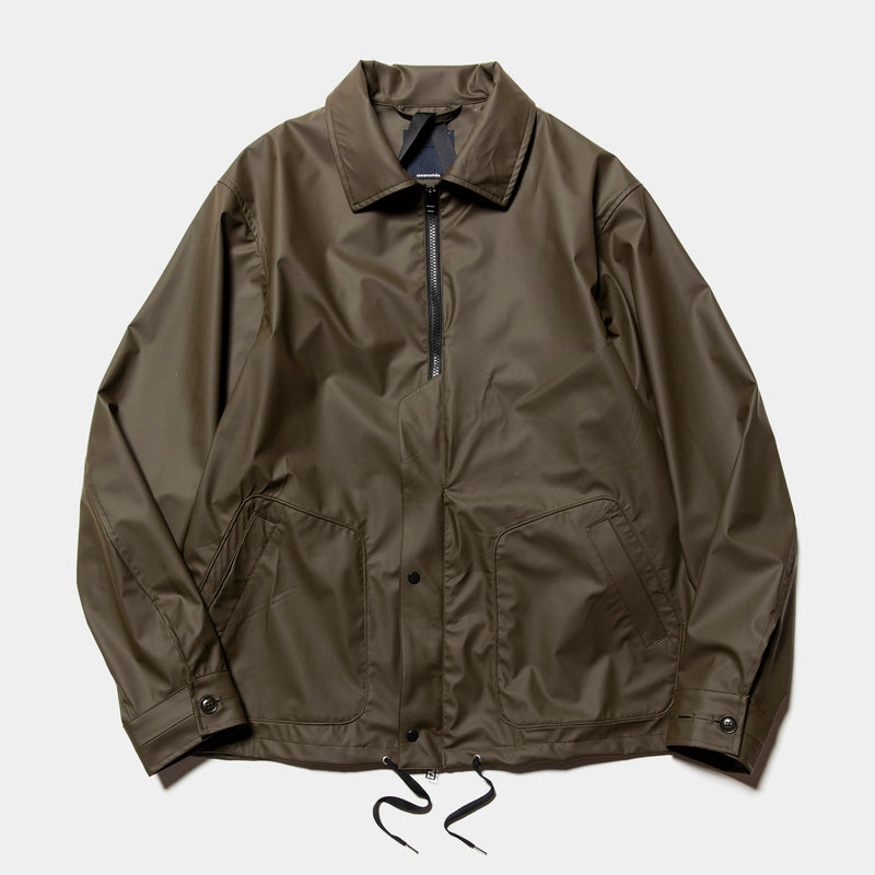 Rubber Cloth Incomplete JKT(Brown)/MW-JKT20201