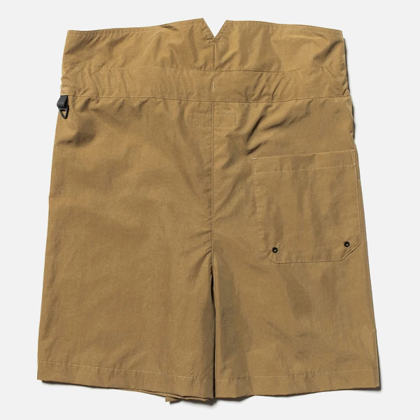 Nylon Wrap Board Shorts (Coyote) / MW-PT20105