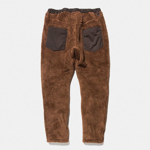 Behavior Fleece Pants (BROWN) /  MW-PT18205