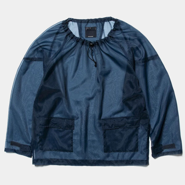 Rip Stop Mesh Pullover (Navy) / MW-SH20106