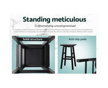 Load image into Gallery viewer, Edwards Bar Stools x 2 (BLACK TIMBER) [EST. RESTOCK 23/12/20]