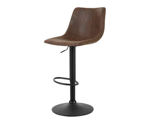 Makybe Bar Stools Lift / Swivel Vintage (Brown)
