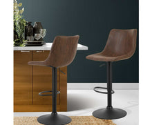 Load image into Gallery viewer, Makybe Bar Stools Lift / Swivel Vintage (Brown)