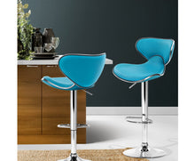 Load image into Gallery viewer, Clark Bar Stools x 2 (Blue) [EST. RESTOCK 05/11/20]