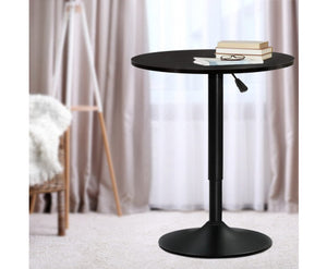 McGrane Bar Table (Black) Adjustable ROUND [EST. RESTOCK 25/10/20]