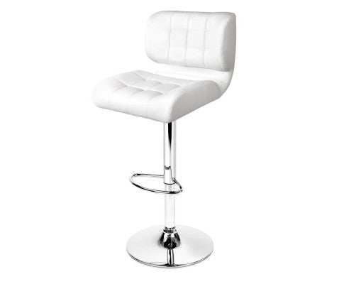 Emma Bar Stools x 2 (White)
