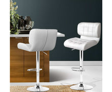 Load image into Gallery viewer, Emma Bar Stools x 2 (White)