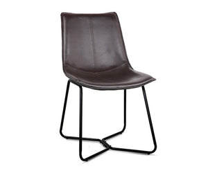 Simmons Dining Chairs  x 2 (Brown) [EST. RESTOCK 24/12/20]