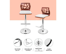 Load image into Gallery viewer, Hargraves Bar Stools x 2 (White)