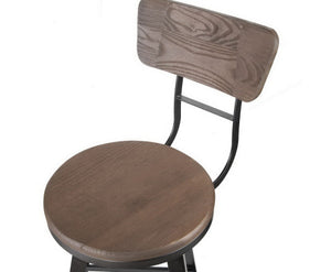 Marjorie 'HIGH' Barstool BACKREST + SWIVEL x 1