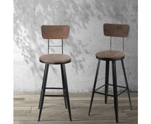 Load image into Gallery viewer, Marjorie 'HIGH' Barstool BACKREST + SWIVEL x 1