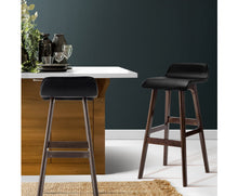 Load image into Gallery viewer, Trudy Bar Stool x 2 (Black & Dk. Timber) [EST. RESTOCK 28/10/20]