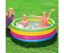 Load image into Gallery viewer, Molly Inflatable Round Kids Rainbow Play Pool