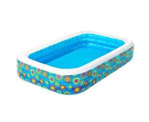 Molly Inflatable Rectangle Kids Flowers Play Pool