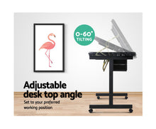 Load image into Gallery viewer, Liam Adjustable & Mobile Drawing Desk (Black and Grey) [EST. RESTOCK 28/11/20]
