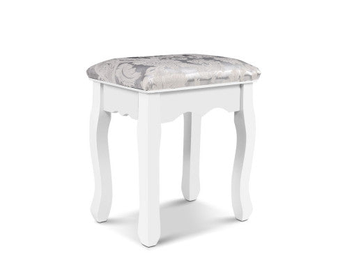 Georgia Dressing / Make-Up Stool  (Vintage White)