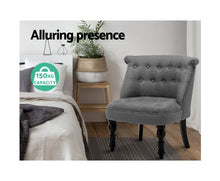 Load image into Gallery viewer, Fifi Provincial Style Feature / Lounge Chair (Grey)