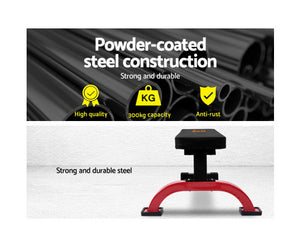 FLF Fitness Flat Bench Weight Press (Black) [EST. RESTOCK 11/12/2020}
