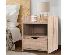Load image into Gallery viewer, Lama Bedside Table (Oak) [EST. RESTOCK 28/10/20]