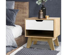 Load image into Gallery viewer, Elke LOW Bedside / Lamp Table