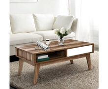 Load image into Gallery viewer, Sven Coffee Table (Wooden + White)