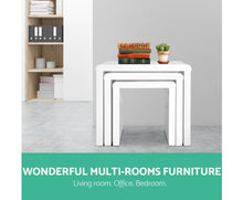 Load image into Gallery viewer, Jim Nesting Coffee Tables x 3 (Gloss White) [EST. RESTOCK 30/11/20]