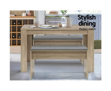 Load image into Gallery viewer, Coco Dining Bench 90cm (Oak)