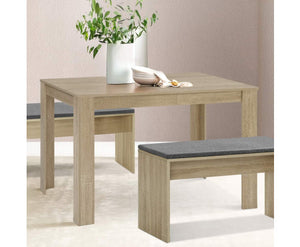 Coco Dining Table 4-6 Seater Wooden Oak 120cm