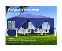 Load image into Gallery viewer, Matilda 3 x 6 m Wedding Outdoor Gazebo / Marquee (Blue) *$PECIAL