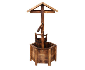 Judi Fir Wooden Wishing Well