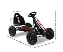 Load image into Gallery viewer, Larz Kids Pedal Go Kart Car Ride On (Black) [EST. RESTOCK 28/10/20]